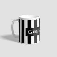NUFC Home Kit 90-91 Geordie Mug