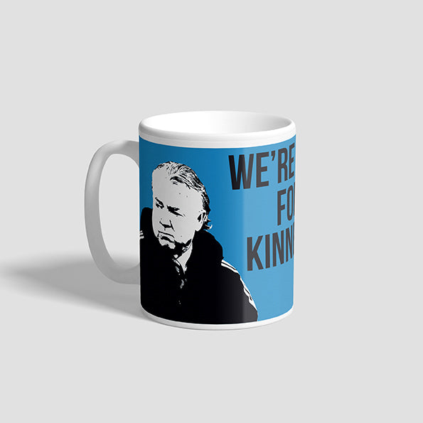 We're Not For Kinnear NUFC Geordie Mug