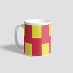 Northumberland Flag Geordie Mug