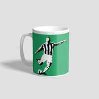 Alan Shearer Penalty NUFC Geordie Mug