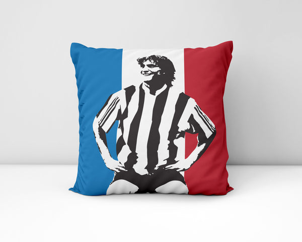 David Ginola NUFC Geordie Cushion