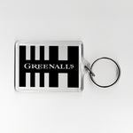 Newcastle Home Shirt 90-91 Plastic Keyring