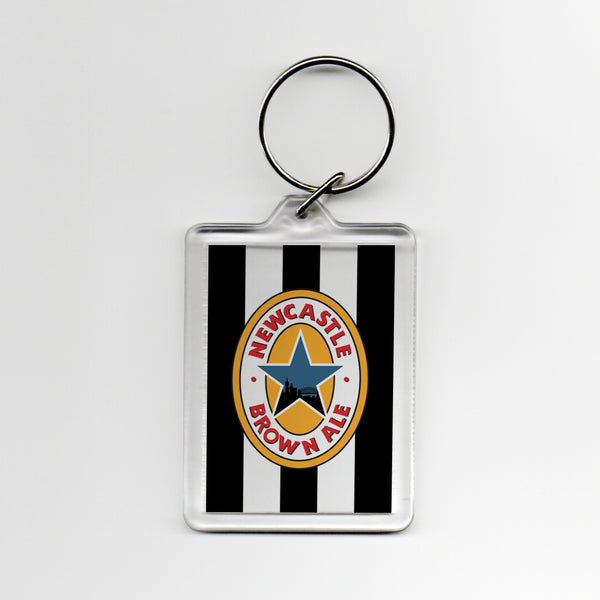 Newcastle Home Shirt 95-97 Plastic Keyring