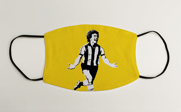 Kevin Keegan Player NUFC Geordie Face Mask Covering