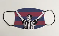 Robert Lee NUFC Geordie Face Mask Covering