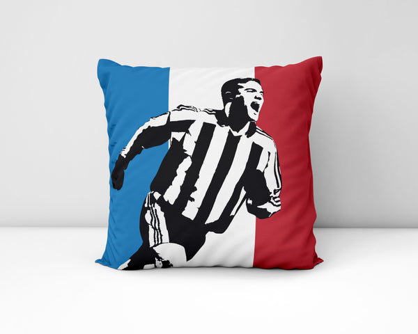 Laurent Robert NUFC Geordie Cushion