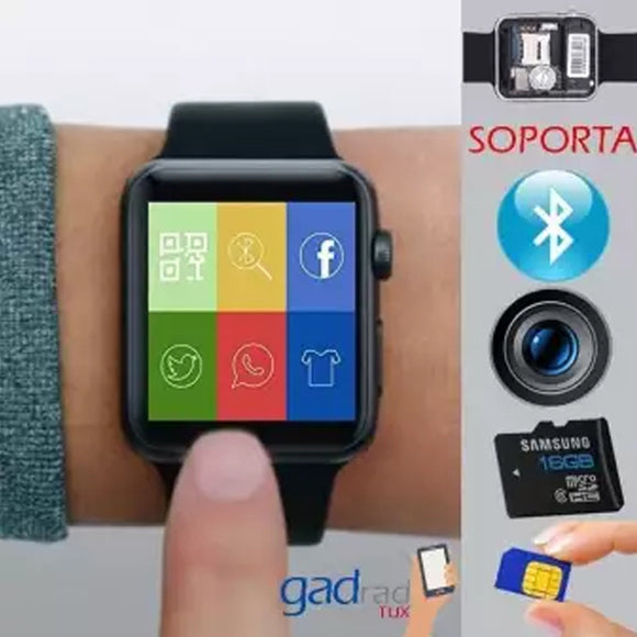 Bluetooth Smart Watch Touch Screen Mobile Phone For Android & IPhone