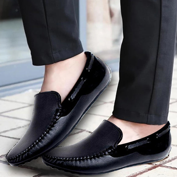 Men Loafers - black