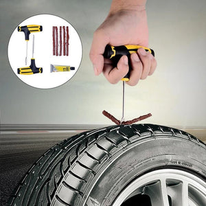 CAR & Bike Tubeless Tire Puncture Plug Repair Tool Kit