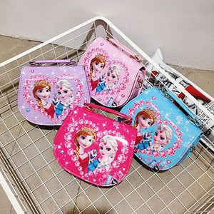 Girl's Handbag Cute Cartoon Ladies Shoulder Messenger Bag