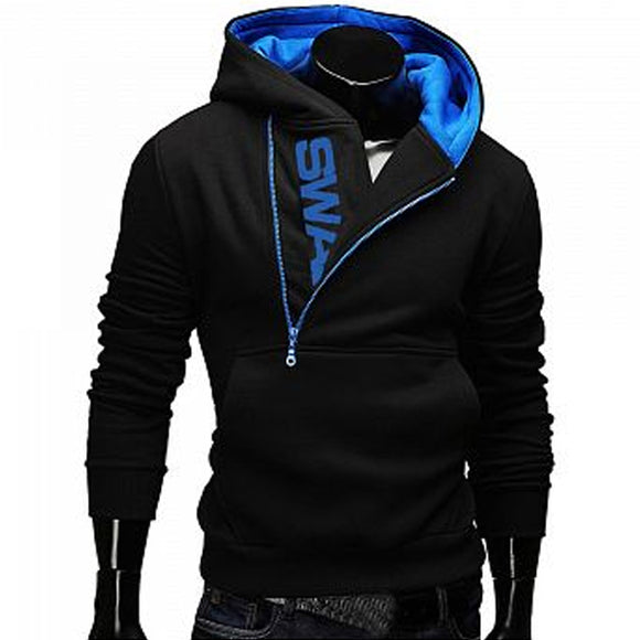 Fashion Cotton Men Hoodies Tracksuit Sweatshirt Men's Winter Warm Collar Cap Long Sleeves Clothing Swag Pullover Hoodies