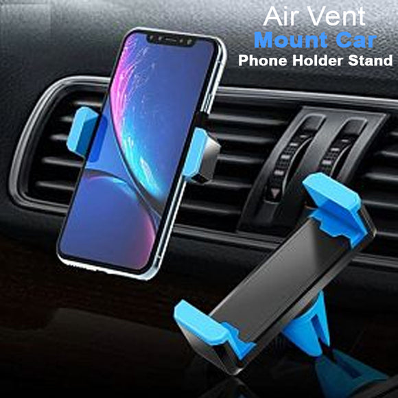 Universal Multi-Color Mini Air Vent Mount Car Phone Holder Stand For 4-6 inch Smartphones
