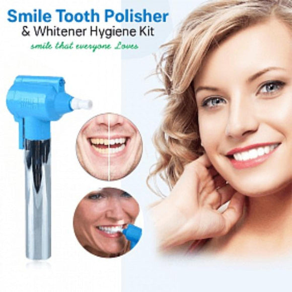 Luma Smile Tooth Polisher & Whitener Hygiene Kit