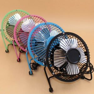 Pack of 3 Mini USB Fan Super Cooling/Extra Strong Wind Desktop Office Table (006)