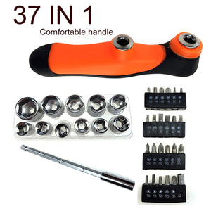 Horusdy 37 in 1 Bits & Socket Screwdriver Set (050)