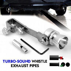 Auto Effetto Turbo-Sound Whistle For Exhaust Pipes