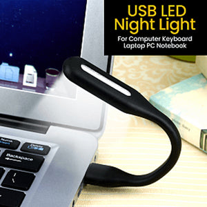 Pack of 4 Unique USB LED Night Light Lamp For Computer Keyboard Laptop (1122)