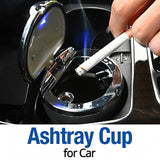 Universal Car Ashtray Cup-Multi Colour (1117)