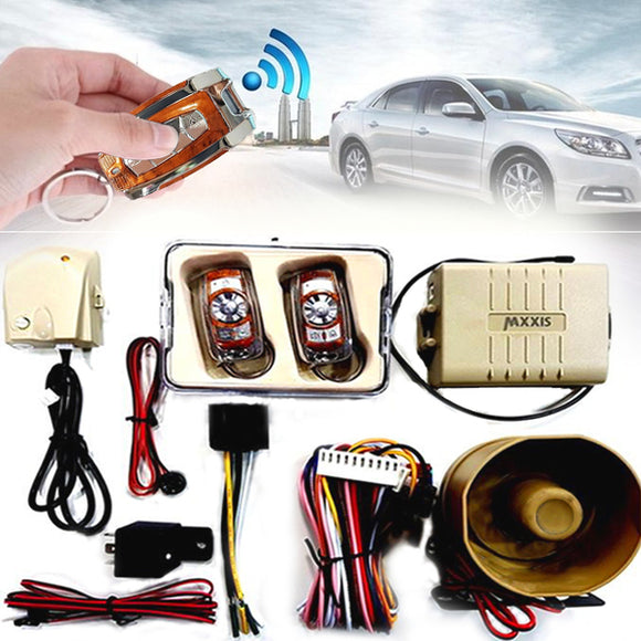 Car Burglar Security Alarm System
