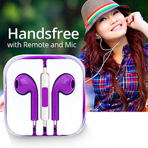 Earpods Handsfree with Remote and Mic