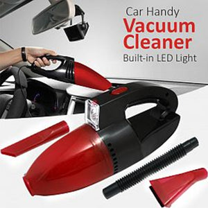 Car Handy Vacuum Cleaner Built in Led Light (0228)