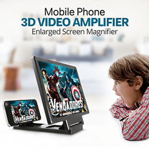 Mobile Phone 3D Video Amplifier Enlarged Screen Magnifier
