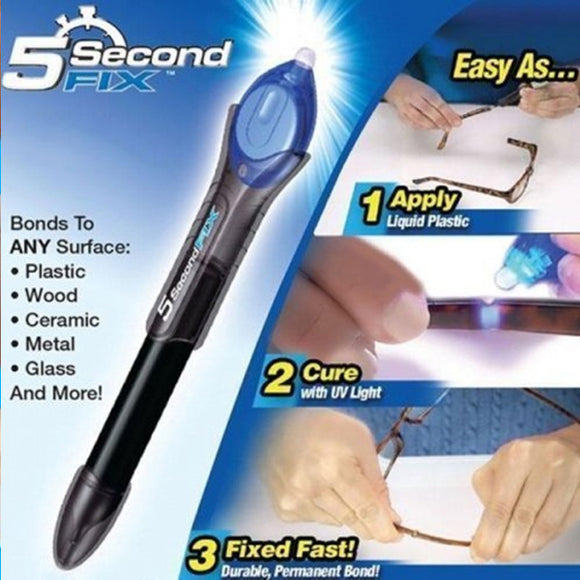 Ontel 5 Second Fix – Liquid-Plastic Welding Repair Tool As Seen On TV (0100)