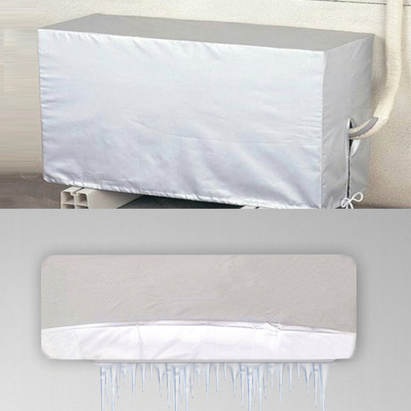Outdoor Air Conditioner Waterproof Cleaning Cover For DIY Washing Household Cleaning Tools Waterproof (1116)