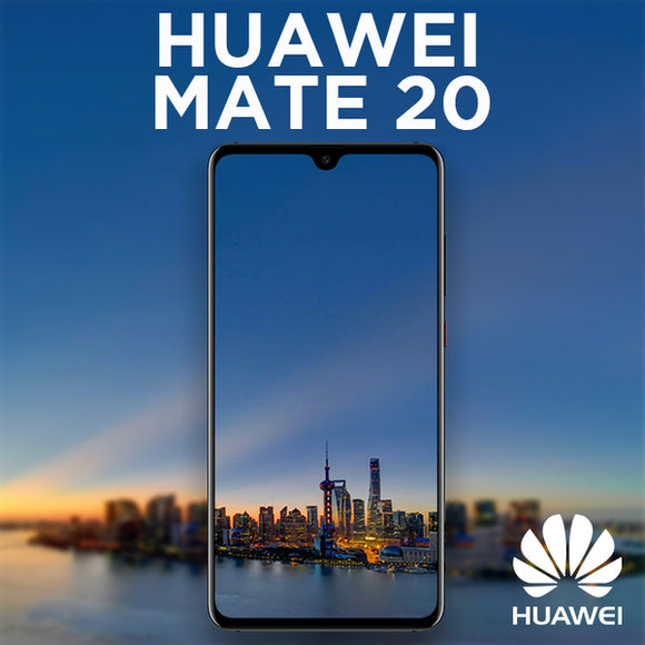 Huawei Mate 20 Pro Dual SIM 6.39 Display : 40MP Camera : 6 GB RAM 128 GB ROM Finger Print (1112