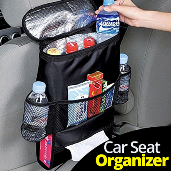 Carsun Large-Capacity Car Multi-Functional Back Seat Organizer