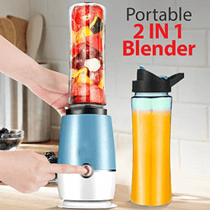 Portable 2 In 1 Blender 180 Watts
