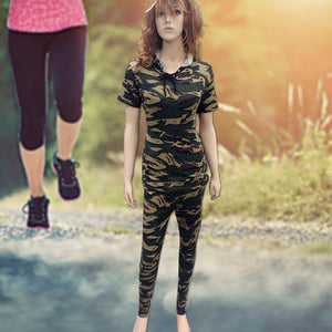New Army stretchable Track Suit for Womens (1121)