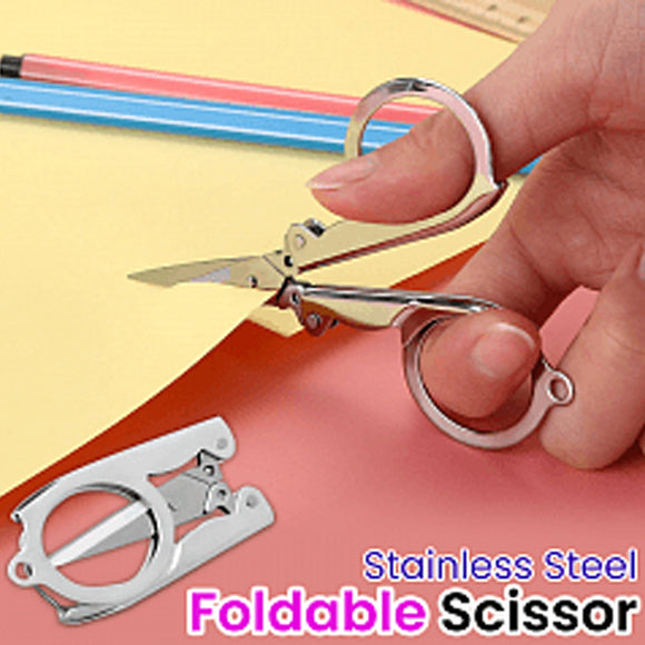 Portable Stainless Steel Foldable Travel Scissor