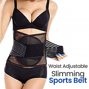 Body Shaper For Women, Adjustable Slimming Belt Lumbar Support Free Size