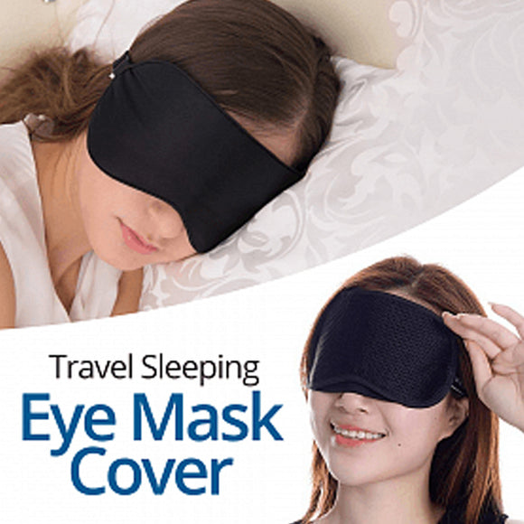 Eye Mask Cover Shade Blindfold Sleeping Sleep Rest Relax Eyemask Masks Travel
