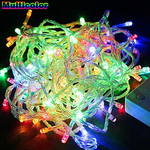 Pack of 2 Party  Home Decorations 100 LED Multi-Color Lights
