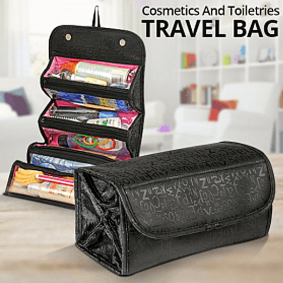 CP Cosmetics And Toiletries Travel Bag, Roll-N-Go