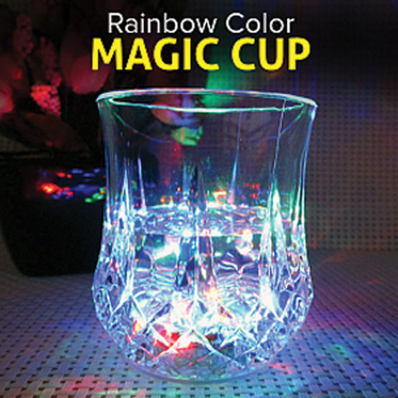 Inductive Rainbow Color Magic Cup, 7-OZ
