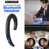 Slim and Comfortable Wireless Bluetooth Headset With Microphone