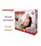 Massage Full Size Seat Topper With Soothing Heat & 5 Massagers, OLY-100C/889