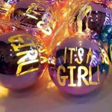 Its A Boy Its A Girl Random Style 10 Led String