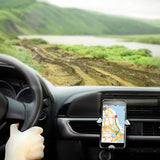 Universal Gravity Metal Air Vent Car Mount Mobile Holder For Smartphones