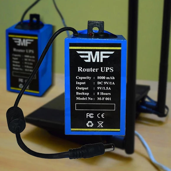 EMF ROUTER UPS POWER BACKUP FOR WIFI ROUTERS