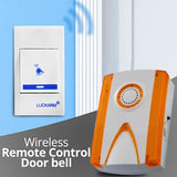 Luckaram Intelligent Wireless Remote Control Door bell