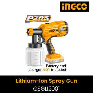 Lithium-Ion spray gun ( include battery ) CSGLI2001