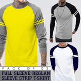 Pack Of 3 T Shirt Reglan Strip