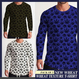 Pack of 3 New Wheat Texture T-Shirts