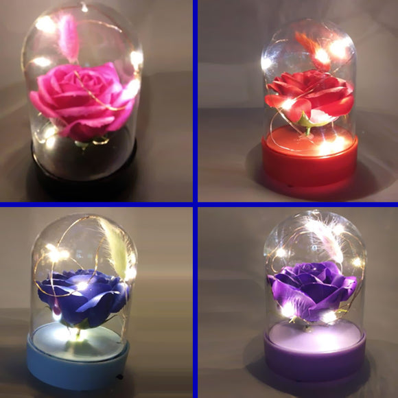 Musical Led Decoration Random Flowers and Colors