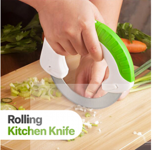 Bolo Circular Rolling Kitchen Knife