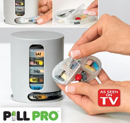 Pill Pro Tablets Pills Organizer - Best Medicine Storage Box (001)